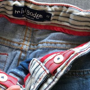 Mini Boden Bottoms - Boys Mini Boden Jeans